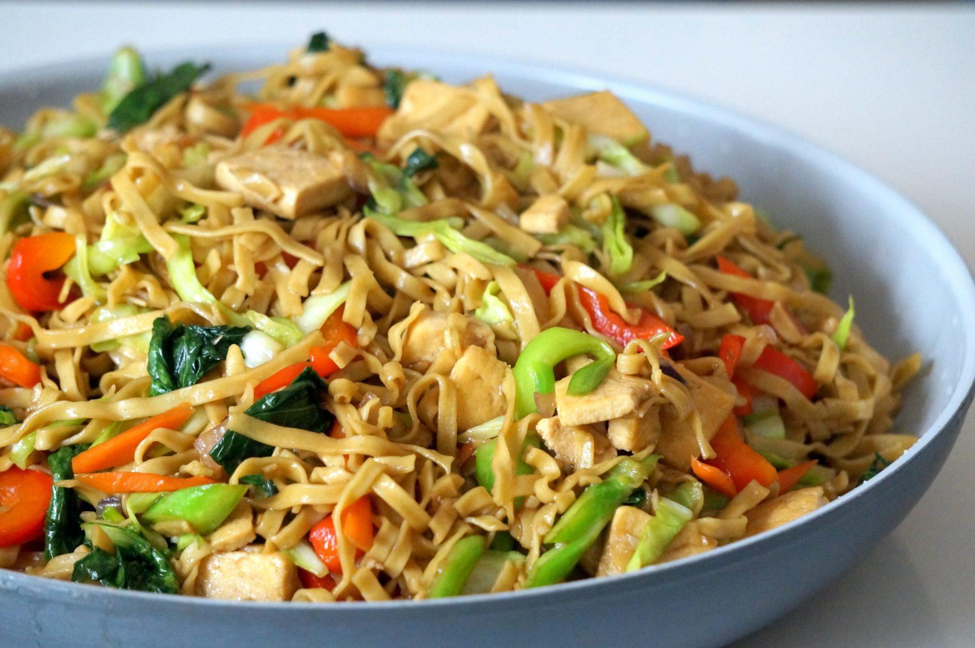 Pinoybites quick and easy tofu chow mein pinoybites tofu chow mein freerunsca Gallery