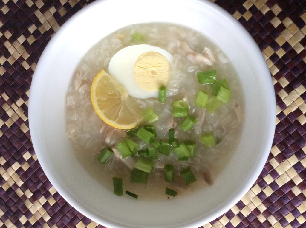 lugaw - filipino breakfast