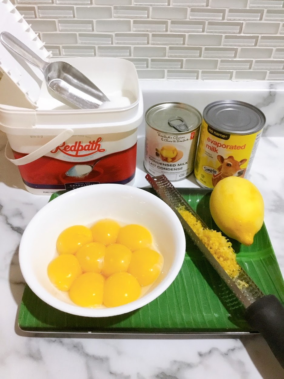 Creamy Leche Flan Ingredients