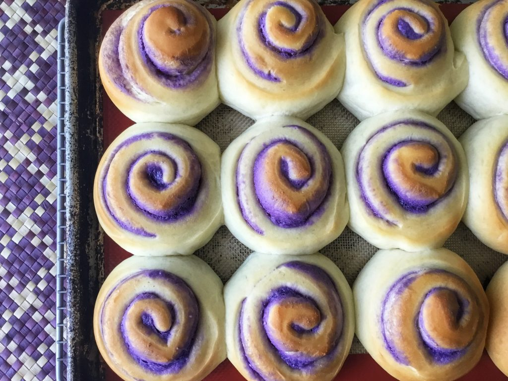 ube cheese roll