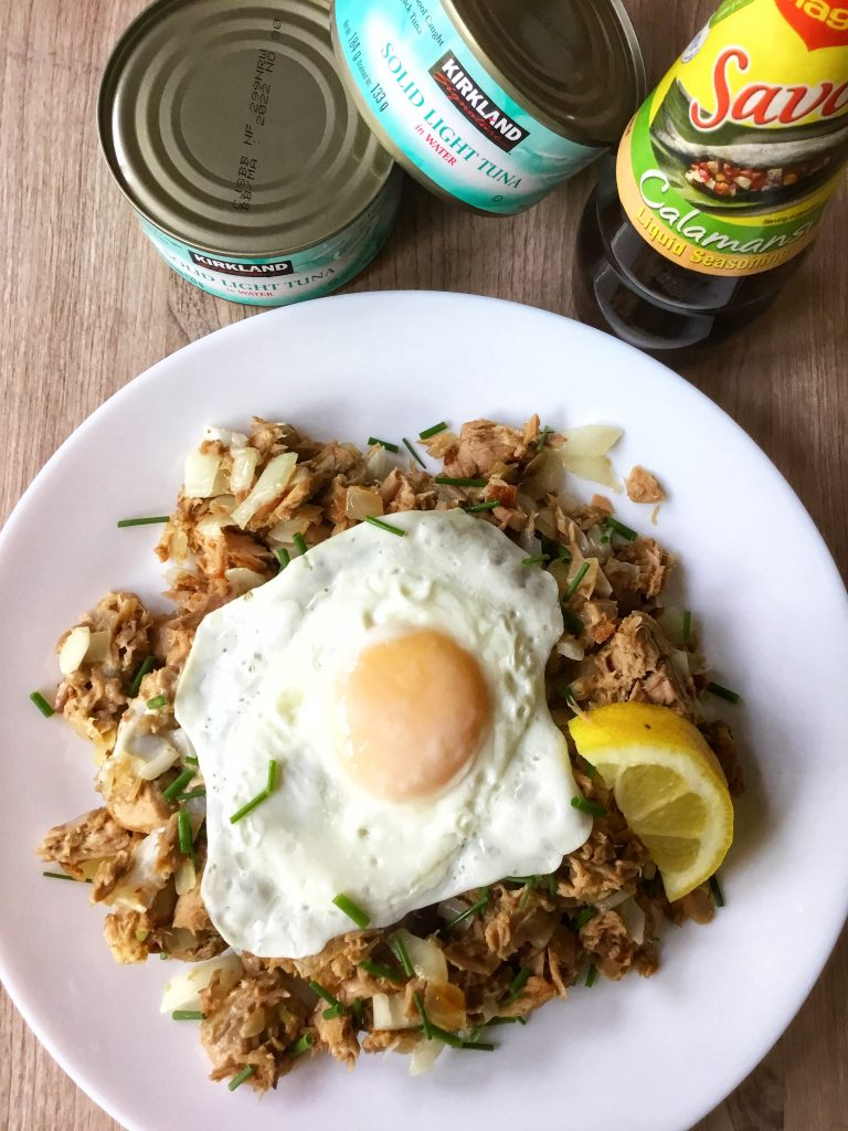 tuna sisig ingredients