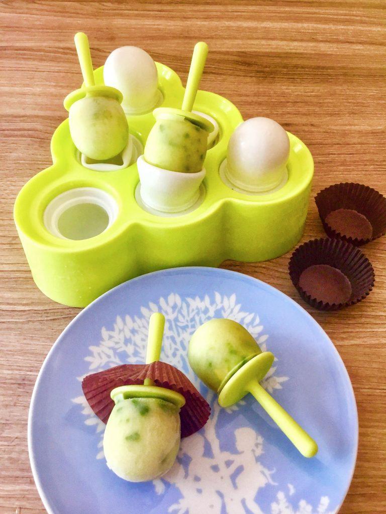 Avocado ice candy