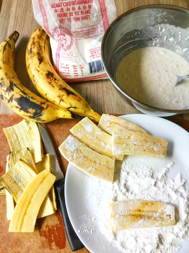 Extra-Crunchy Banana Fritters 2