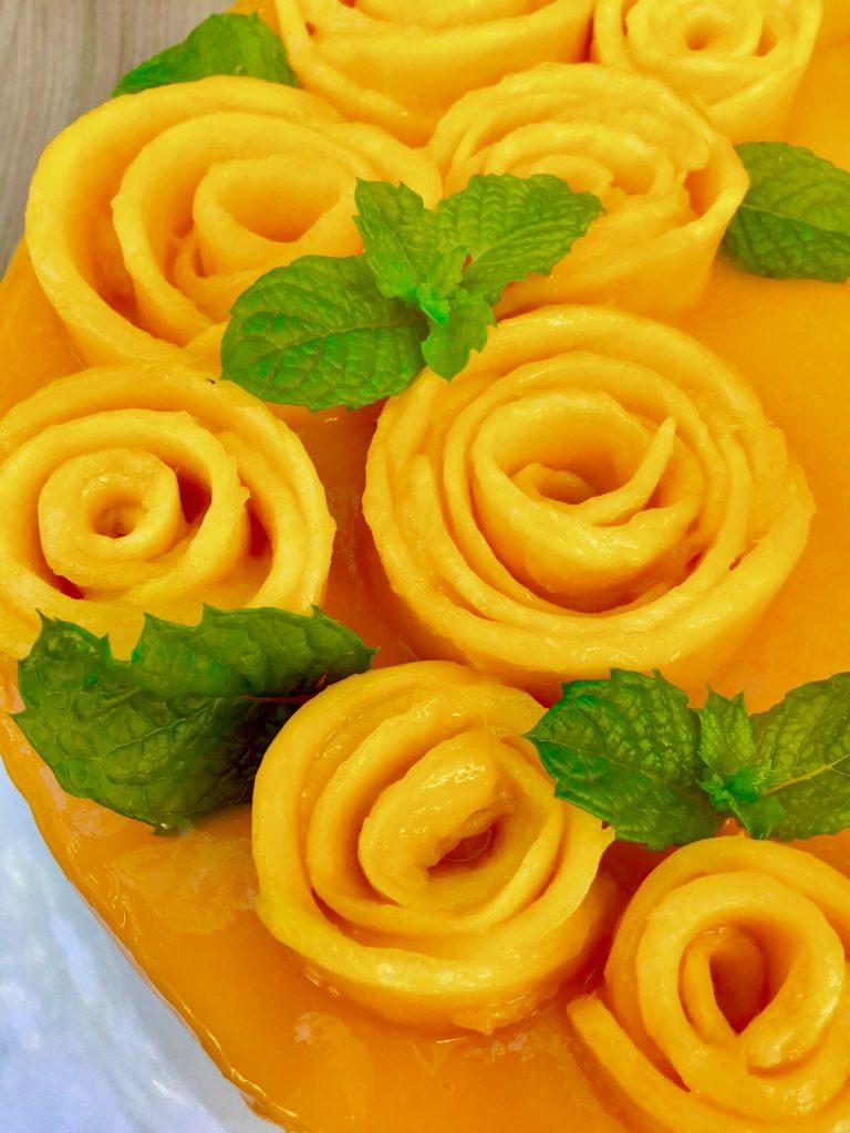 Mango cheesecake 7