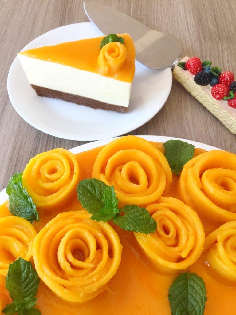 Mango cheesecake 5