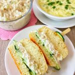 Chicken salad sandwich 1