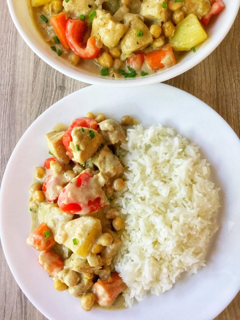 Filipino-Style Chicken Curry 2