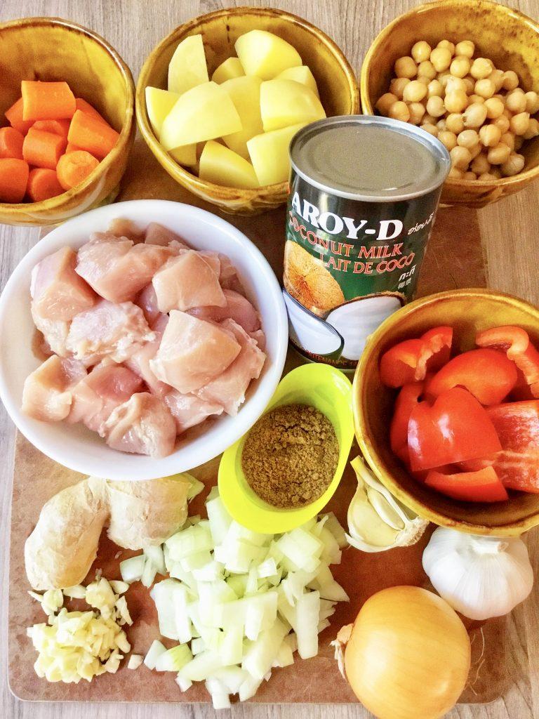 Filipino-Style Chicken Curry 4