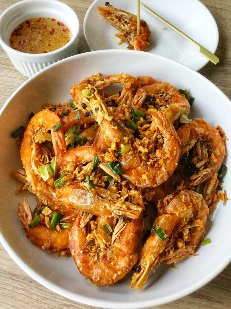 Crispy Garlic Shrimp 1