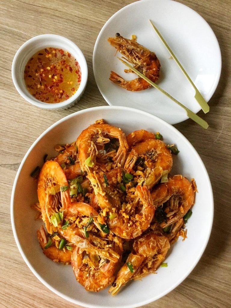 Crispy Garlic Shrimp 2