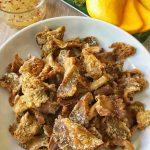 Crunchy Mushroom Chicharon